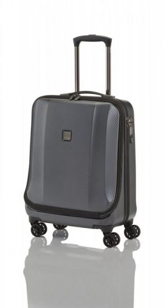 Titan Xenon Deluxe Business Wheeler Graphite palubní kufr na 4 kolečkách TSA 55x40x22 cm