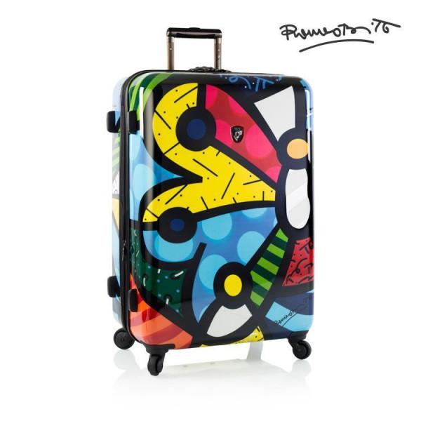 Heys Britto Butterfly L designový cestovní kufr na 4 kolečkách TSA 76 cm