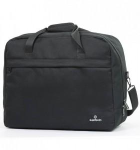 Member's SB-0036 palubní cestovní taška černá 55x40x20 cm 40 l