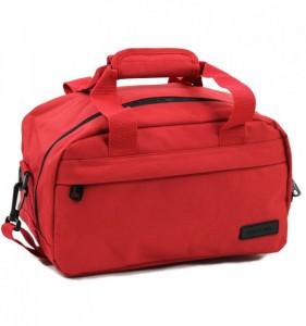 Member's SB-0043 palubní cestovní taška červená 35x20x20 cm Ryanair