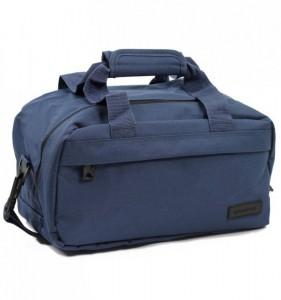 MEMBER'S SB-0043 malá lehká palubní taška 35x20x20 cm 14 l modrá