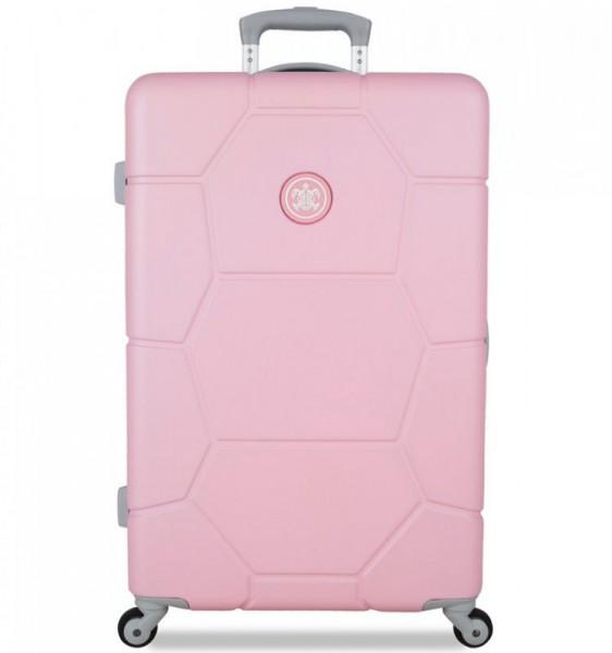 SUITSUIT Caretta M Pink Lady cestovní kufr na 4 kolečkách 65 cm