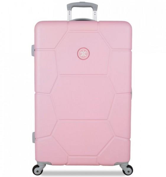 SUITSUIT Caretta L Pink Lady cestovní kufr na 4 kolečkách 75 cm