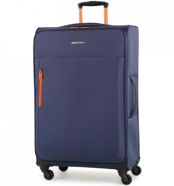Member's Hi-Lite TR-0137 L Navy cestovní kufr na 4 kolečkách 78 cm 86-99 l