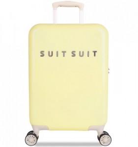 SUITSUIT Fabulous Fifties S Mango Cream palubní kufr na 4 kolečkách TSA 55 cm