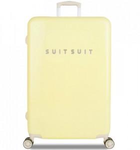 SUITSUIT Fabulous Fifties L Mango Cream cestovní kufr na 4 kolečkách TSA 77 cm