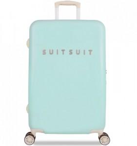 SUITSUIT Fabulous Fifties M Luminous Mint cestovní kufr na 4 kolečkách TSA 67 cm