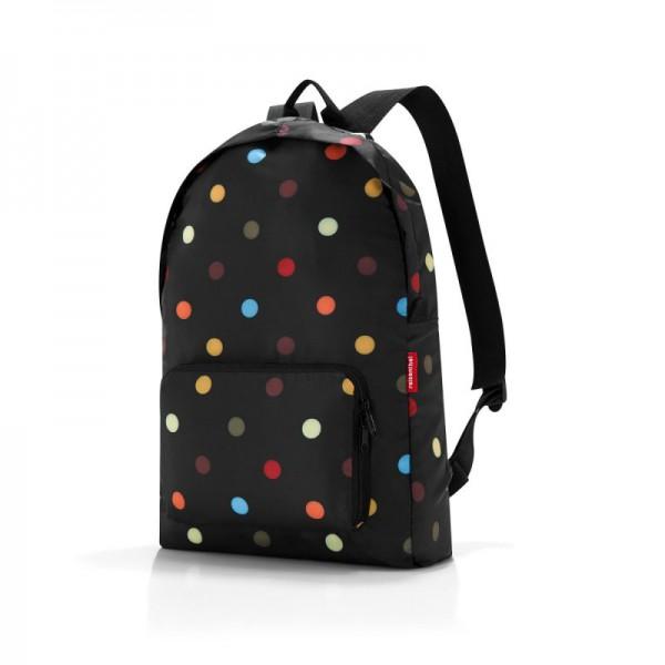 Reisenthel Mini Maxi Rucksack Dots skládací víceúčelový batoh 14 l