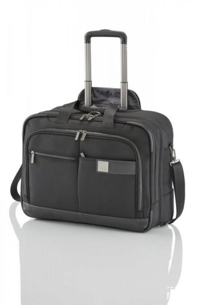 Titan Power Pack 2w Business Wheeler Black palubní kufr na 17'' notebook 48x40x22 cm