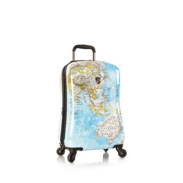 Heys Journey 2G S stylový skořepinový palubní kufr na 4 kolečkách TSA 53 cm