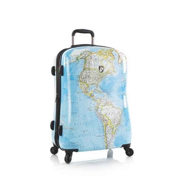 Heys Journey 2G M stylový skořepinový cestovní kufr na 4 kolečkách TSA 66 cm
