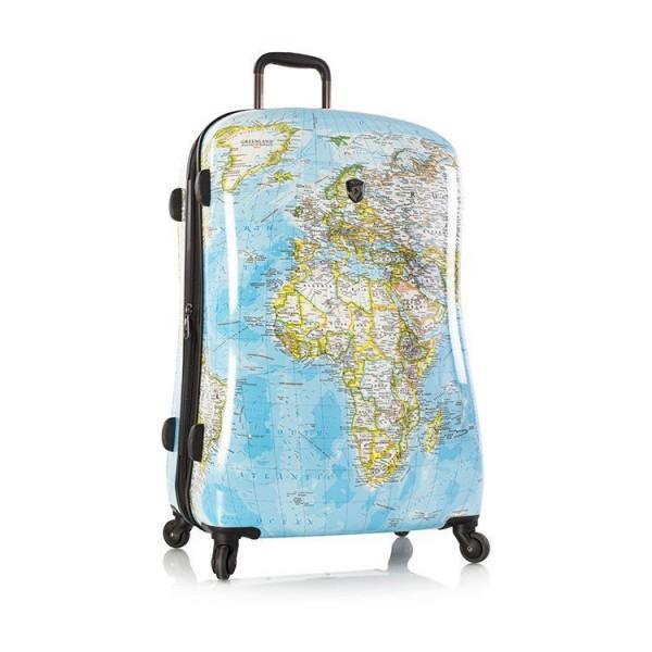 Heys Journey 2G L stylový skořepinový cestovní kufr na 4 kolečkách TSA 76 cm