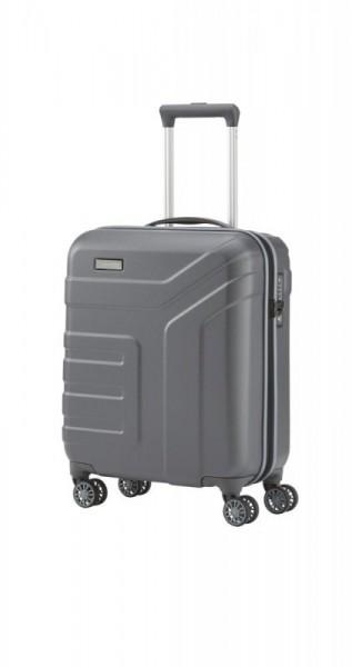 Travelite Vector 4w S Anthracite palubní cestovní kufr na 4 kolečkách TSA 55 cm