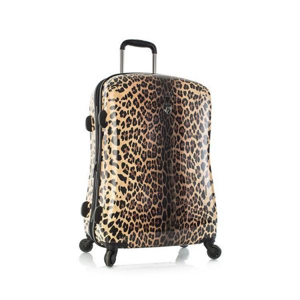 Heys Leopard Panthera M stylový cestovní kufr na 4 kolečkách TSA 66 cm