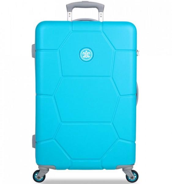 SUITSUIT Caretta M Ocean Blue cestovní kufr na 4 kolečkách 65 cm