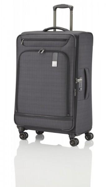 Titan CEO 4w L Glencheck špíčkový business kufr na 4 kolečkách TSA 78 cm 105-119 l