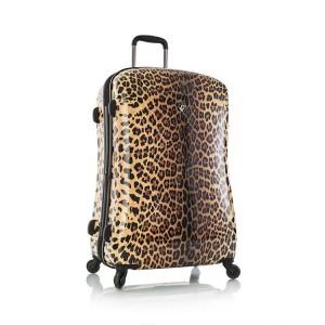 Heys Leopard Panthera L stylový cestovní kufr na 4 kolečkách TSA 76 cm