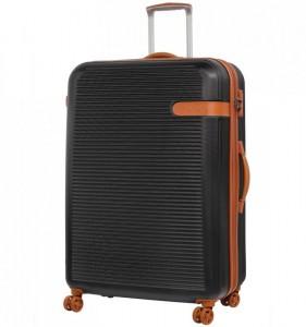 ROCK TR-0159 Valiant XL Black cestovní kufr na 4 kolečkách TSA 81 cm 130-159 l