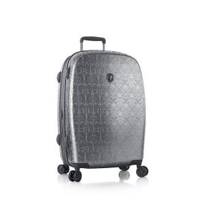 Heys Motif Femme M Gunmetal luxusní cestovní kufr na 4 kolečkách TSA 66 cm