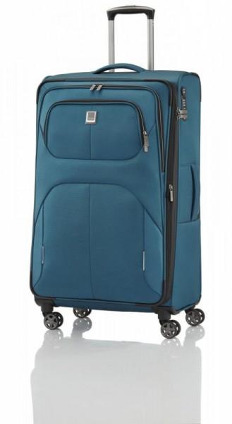 Titan Nonstop 4w L Petrol textilní cestovní kufr na 4 kolečkách TSA 79 cm 108-122 l
