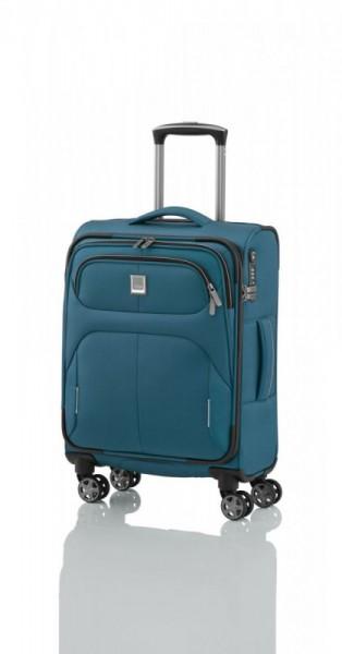 Titan Nonstop 4w S Petrol palubní cestovní kufr na 4 kolečkách TSA 55x39x20 cm