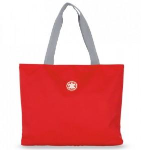 SUITSUIT Caretta Beach Bag Fiery Red plážová taška 24 l