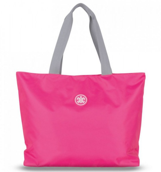 SUITSUIT Caretta Beach Bag Shocking Pink plážová taška 24 l