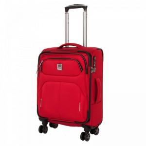 Titan Nonstop 4w S Red palubní cestovní kufr na 4 kolečkách TSA 55x39x20 cm