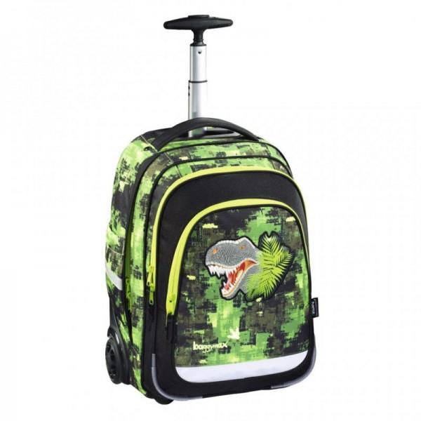 Baggymax Trolley Dino dětský palubní kufr-batoh na kolečkách 40 l