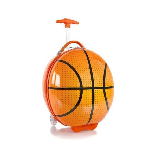 Heys Kids Sports Luggage Basketball dětský skořepinový cestovní kufr 41 cm
