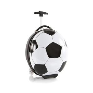 Heys Kids Sports Luggage Football dětský skořepinový cestovní kufr 41 cm