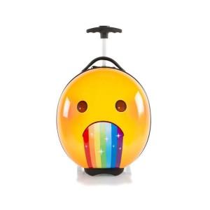 Heys e-Motion Kids Luggage Rainbow dětský skořepinový cestovní kufr 41 cm