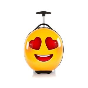 Heys e-Motion Kids Luggage Love dětský skořepinový cestovní kufr 41 cm