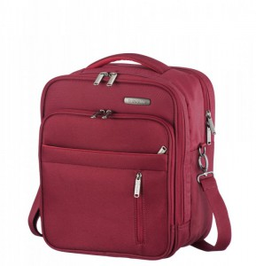 Travelite Capri Board Bag Vertical Red palubní taška 28x35x19 cm 19 l