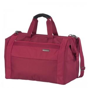 Travelite Capri Duffle Red elegantní cestovní taška 45x32x27 cm 39 l