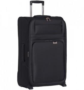 Aerolite T-9515-L ultralight cestovní kufr na 2 kolečkách 76,5 cm černý