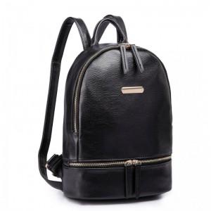 Miss Lulu LF6606 dámský elegantní batoh černý