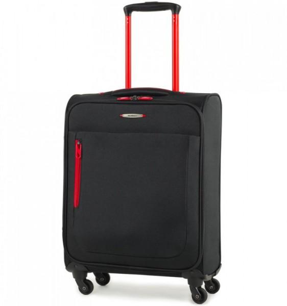 Member's Hi-Lite TR-0137 S Black palubní cestovní kufr na 4 kolečkách 54 cm