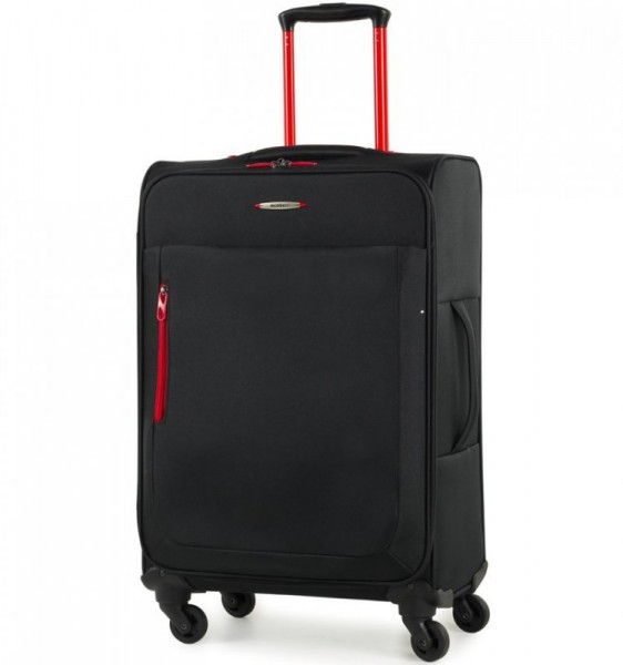 Member's Hi-Lite TR-0137 M Black cestovní kufr na 4 kolečkách 67 cm 48-55 l