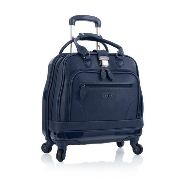 Heys Nottingham Executive Navy hybridní business kufřík na 4 kolečkách 42 cm