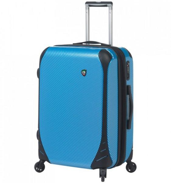 Mia Toro M1021 Fibre di Carbonio Largo S Blue palubní kufr TSA 56x39x24 cm 41-51 l