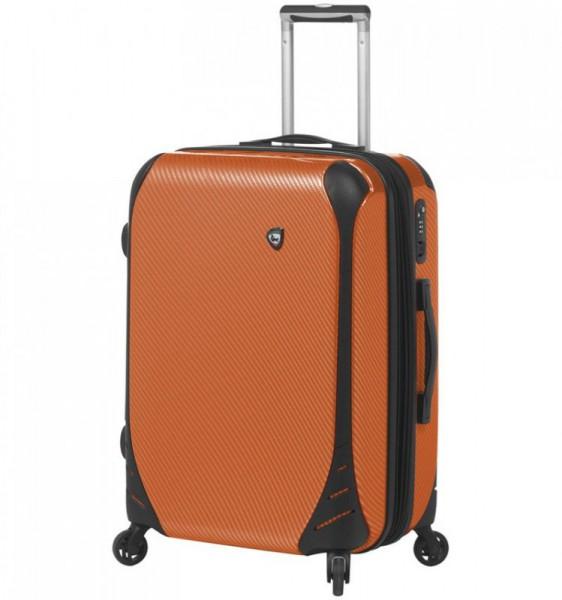 Mia Toro M1021 Fibre di Carbonio Largo S Orange palubní kufr TSA 56x39x24 cm 41-51 l