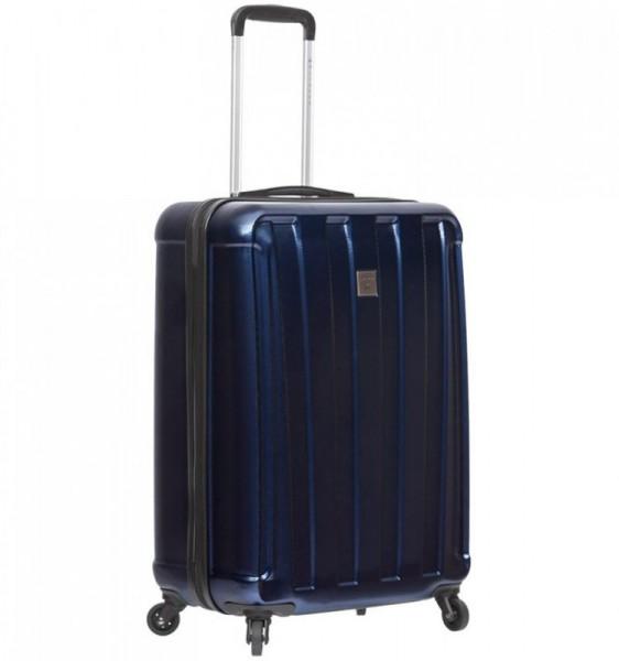 Azure Sirocco T-1162-S ABS/PC palubní kufr na 4 kolečkách 55 cm TSA modrý