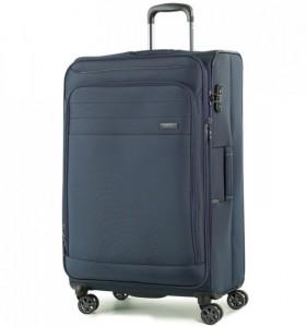 ROCK Apollo TR-0162-L rozšířitelný cestovní kufr na 4 kolečkách TSA 79 cm tmavě modrý