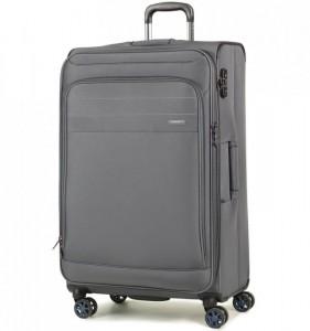 ROCK Apollo TR-0162-L rozšířitelný cestovní kufr na 4 kolečkách TSA 79 cm šedý