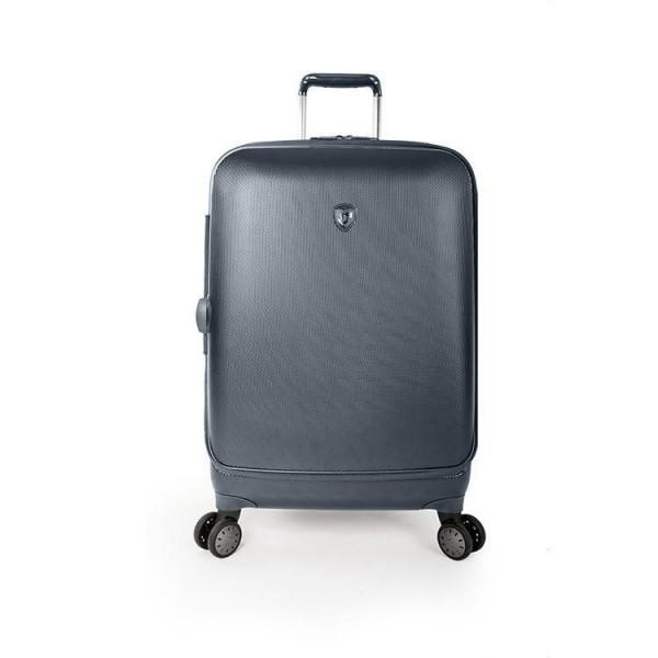 Heys Portal Smart M Blue inovativní cestovní kufr na 4 kolečkách TSA 66 cm