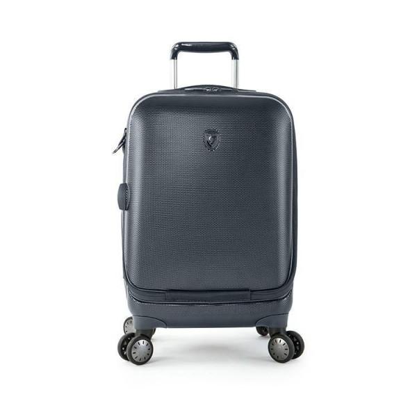 Heys Portal Smart S Blue inovativní palubní kufr na 4 kolečkách TSA 53 cm