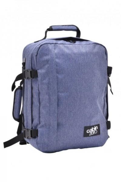 CabinZero Classic 28L Blue Jean ultra-light palubní batoh-taška 39×29,5×20 cm