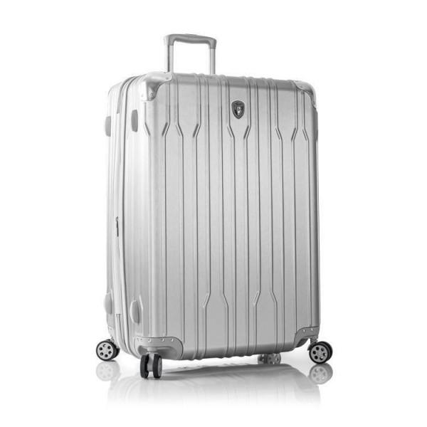 Heys Xtrak L Silver cestovní kufr na 4 kolečkách TSA 76 cm
