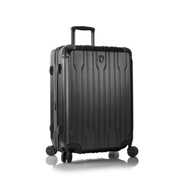 Heys Xtrak M Black cestovní kufr na 4 kolečkách TSA 66 cm